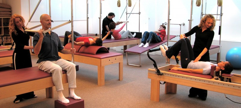 pilates class at Pilates Central London