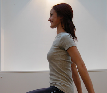 Pilates and Stress - Smiling on Pilates Stool